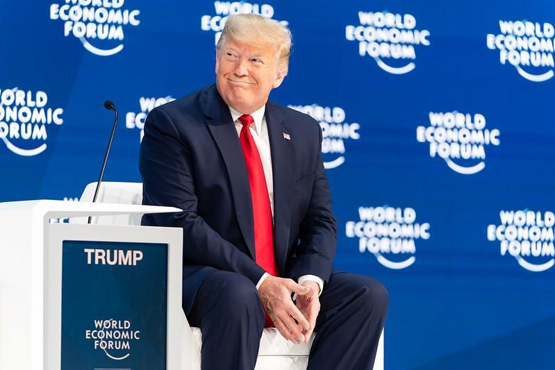 Fórum Davos Donald Trump