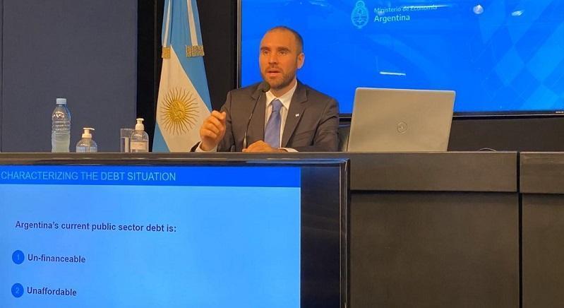 Ministro de Economía Martín Guzmán / Ministerio