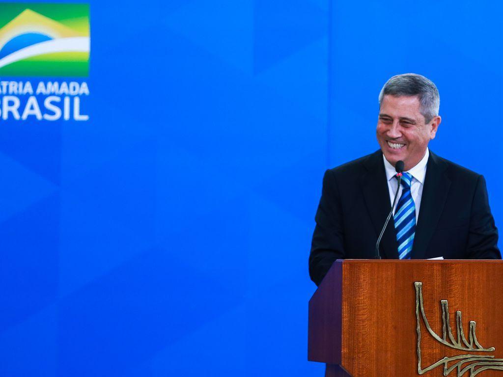 O ministro da Casa Civil, Walter Souza Braga Netto. (Foto: Foto: Valter Campanato/Agência Brasil)