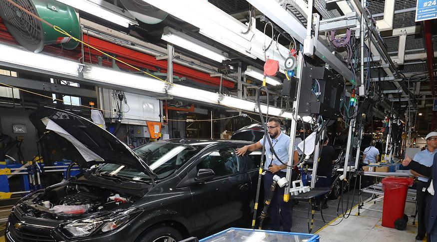 industria, producao industrial, carro, industria automotiva