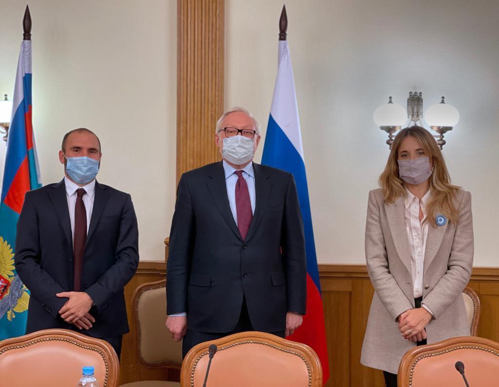 Guzmán en Rusia/Twitter Oficial