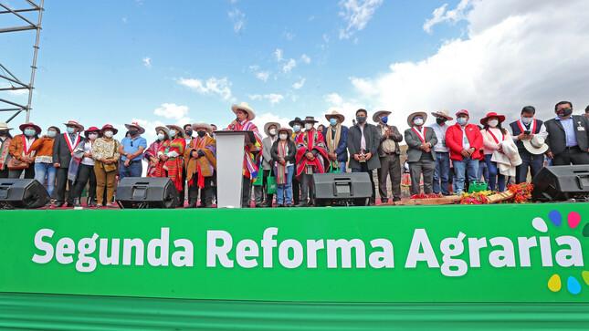 Castillo lanza 2da reforma agraria y anuncia ajuste de precios – Agência CMA